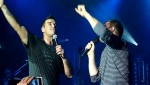 Robbie et Gary  au concert à Paris au Alhambra 10/10/2010 B502fe101963214