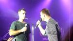 Robbie et Gary  au concert à Paris au Alhambra 10/10/2010 Cb8897101963902