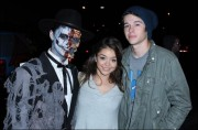 Sarah Hyland-Celebrity Sightings At Knott's Scary Farm - October 13, 2010