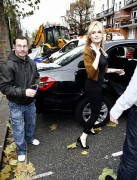 Nov 22, 2010 - Duffy - Out n About - Maida Vale Studios In London A92150108235150