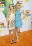 AnnaSophia Robb & Lorraine Nicholson - 2011 Kids Choice Awards 04/02/11