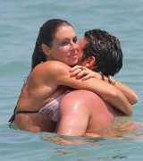 Rachel Uchitel - Bikini Candids In Miami 04/12/11