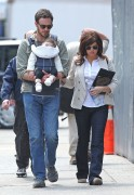 Tiffani Amber Thiessen Walking From The Set OF 'White Collar' in Manhattan April 18th HQ x 11