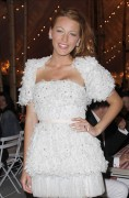 Blake Lively Leggy @ Chanel Private Dinner in Honour of Karl Lagerfeld in NYC June 8th x 4