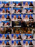 Kat Dennings and Beth Behrs on The Early Show + Interviewed at the CBS Upfront