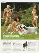 Layla El-WWE Magazine October 2007