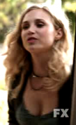 Fiona Gubelmann's busty cleavage starring in F/X's WILFRED ... 27 non-HD caps