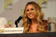 Сара Картер, фото 81. Sarah Carter Cast Of TNT's Falling Skies At Comic-Con - July 22, 2011, foto 81