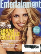 Sarah Michelle Gellar - EW (Sept 2nd, 2011)
