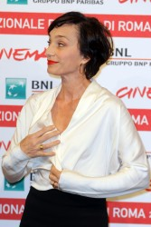 Кристин Скотт Томас, фото 58. Kristin Scott Thomas 'The Woman in the Fifth' Photocall at the International Rome Film Festival (30.10.2011), foto 58