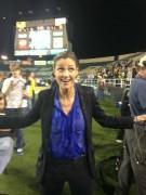 """Erin Andrews on location for """"Gameday""""(x16) *wet shirt* +VID"""