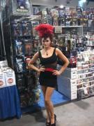 Maria Kanellis- Comic Con 2010 Twitter Pic