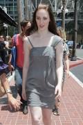 "Deborah Ann Woll *Leggy Sweet* @ ""Comic-Con"" Strolling In San Diego -July 23rd 2010- (HQ X13)"