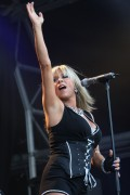 "Samantha Fox *Leggy* Performing @ ""Milk Festival"" At BallinLough Castle In Ireland -August 14th 2010- (HQ X6)"