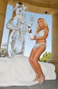Bridget Marquardt - Takes a Snow Day at Azure in Las Vegas